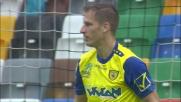 Goffo errore di Birsa, manca il colpo di testa in Udinese-Chievo