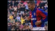 Baggio trascina il Bologna contro il Milan mettendo a referto un goal da puro opportunista