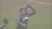 Berardi segna il suo secondo goal al Milan