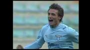 Deviazione vincente di Belleri che regala alla Lazio il vantaggio contro l'Ascoli