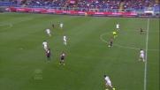 Niang colpisce il palo in Genoa-Cagliari