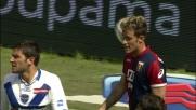 Floro Flores calcia alto da ottima posizione contro il Brescia