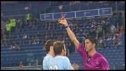 Kolarov stende in scivolata Bojinov: rigore per il Parma