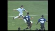 Nedved vicino al goal contro l'Inter