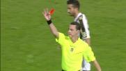 Zaza entra in scivolata sulle caviglie di Gabriel Silva e si merita il cartellino rosso