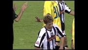 Kroldrup atterra da dietro Zanetti e viene espulso