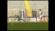 Pandev mette a sedere Balli e segna il goal che porta in vantaggio la Lazio a Empoli