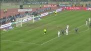 Barreto batte ancora Julio Cesar su rigore: è il goal del 2-0 per il Bari