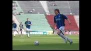 Lazzari conclude fuori una bella azione dell'Atalanta contro l'Udinese