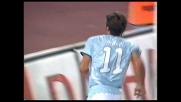Mauri la sblocca all'Olimpico. Suo il goal in rovesciata che fa volare la Lazio contro la Fiorentina
