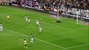 Troppo facile per Buffon respingere il tiro di Candreva