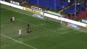 Totti segna con freddezza il goal del momentaneo 3 a 0 della Roma sul Genoa