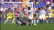 L'incrocio rende inutile la magia di Lavezzi contro la Lazio