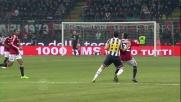 Stop elegante del Faraone a San Siro contro la Juventus