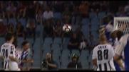 Lucarelli trafigge Handanovic in Udinese-Parma