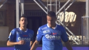 Al Castellani splende Krunic: Empoli in vantaggio sul Genoa