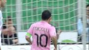 Miccoli con un goal di sinistro porta il momentaneo pareggio a Palermo