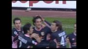 Toni di testa, il Palermo trova il goal del vantaggio all'Olimpico
