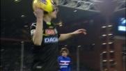 Basta con tunnel e dribbling si beve la fascia della Sampdoria