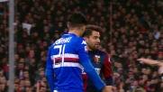 Scontro ruvido tra Rincon e Soriano nel derby di Genova