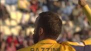Pazzini manca l'appuntamento col goal a Carpi: il suo colpo di testa è fuori