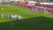 Lodi segna su rigore la rete dell'1-0 del Catania al Genoa