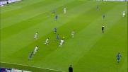 Di Natale si esibisce con un colpo di tacco smarcante allo Juventus Stadium