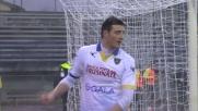 Ciofani realizza su rigore il secondo goal contro l'Empoli