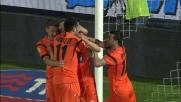 Fabbrini realizza il goal della vittoria dell'Udinese al Manuzzi