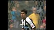 Rigore di Pizarro e l'Udinese passa in vantaggio