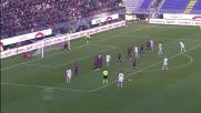 La punizione di Balotelli è imparabile: goal dell'1-1 per il Milan a Cagliari