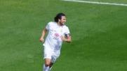 Il goal di Toni sblocca il risultato a Cagliari