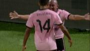 Goal di Rios in Palermo-Lazio