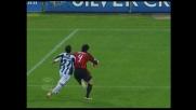 Quagliarella sbatte su Kaladze, sfuma l'attacco dell'Udinese