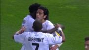 Floccari corregge di testa e segna il goal del raddoppio del Parma con l Lazio al Tardini