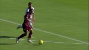 Paulinho scatena il destro per il goal che decide il match contro l'Atalanta