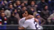 Floccari porta in vantaggio la Lazio beffando Storari in uscita