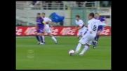 Danilo sfiora il goal del Genoa in casa della Fiorentina