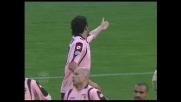 Carrozzieri in tackle abbatte Lukovic in area: rigore per l'Udinese al Barbera