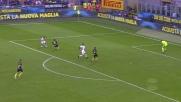 Barella spaventa la difesa dell'Inter a San Siro