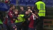 Antonelli svetta nell'area dell'Inter e realizza il goal vittoria per il Genoa