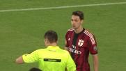 De Sciglio espulso nei primi secondi di Napoli - Milan