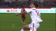 Gran goal di testa di Ibrahimovic contro la Roma