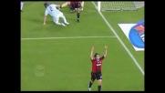 Kaka' segna il terzo goal del Milan alla Lazio e firma la doppietta personale