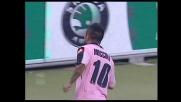 Miccoli fa impazzire di gioia il Barbera con il goal che permette al Palermo di domare la Reggina