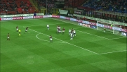 Ronaldinho impegna Frey su punizione in Milan-Fiorentina