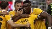 Tevez mette il sigillo ad un'azione stratosferica e segna il goal vittoria contro la Sampdoria