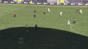 Palo di Cambiasso! Il Cagliari difende il vantaggio