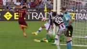 Salah cala il poker della Roma sull'Udinese