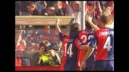Milito mette la sua firma nella sfida fra Genoa e Napoli con un goal di testa